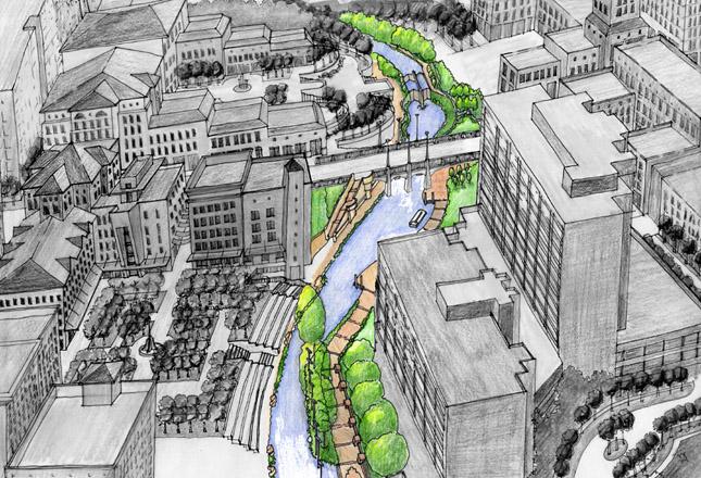 San Antonio River Improvements Robey Architecture Inc